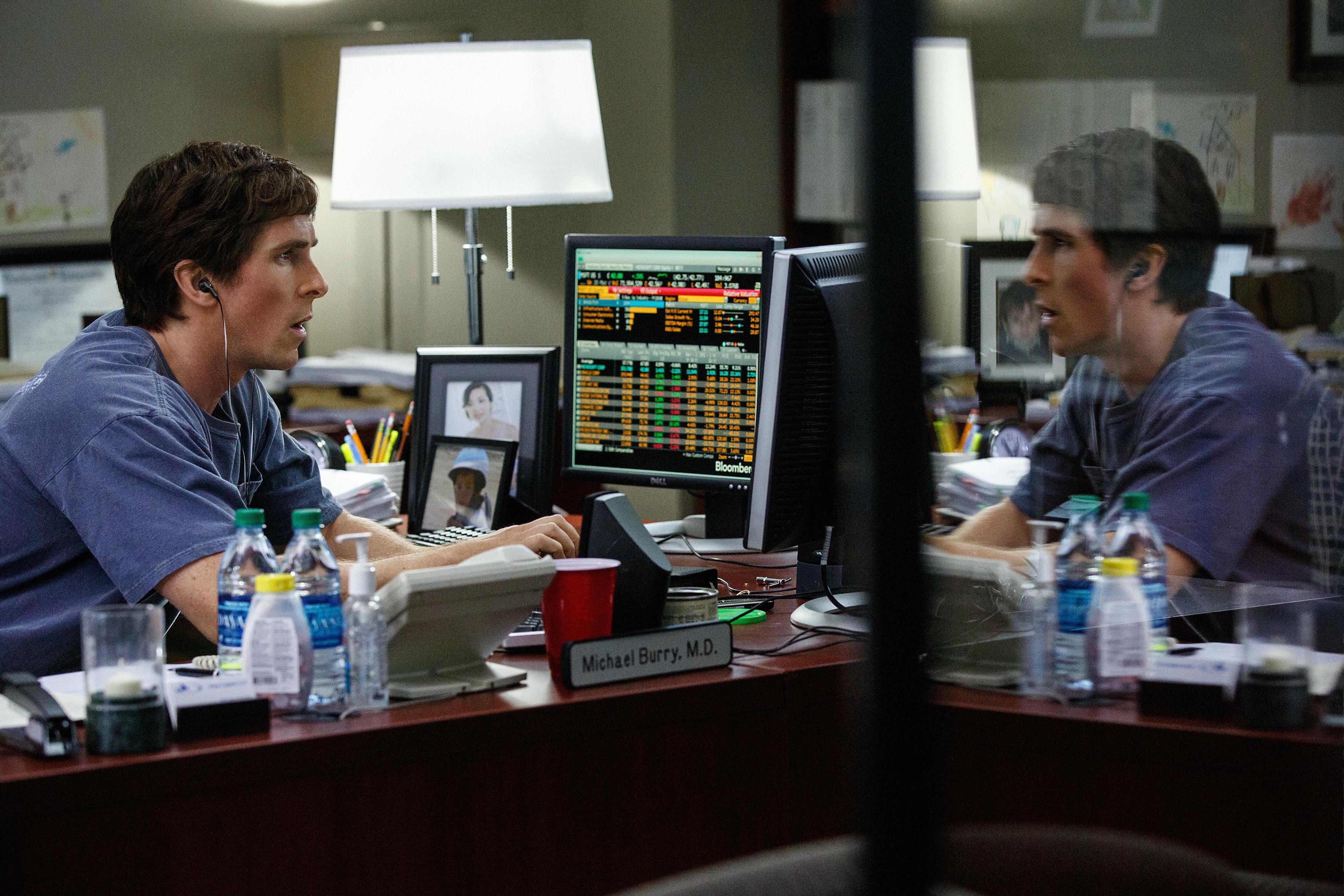 Christian Bale em 'A Grande Aposta'