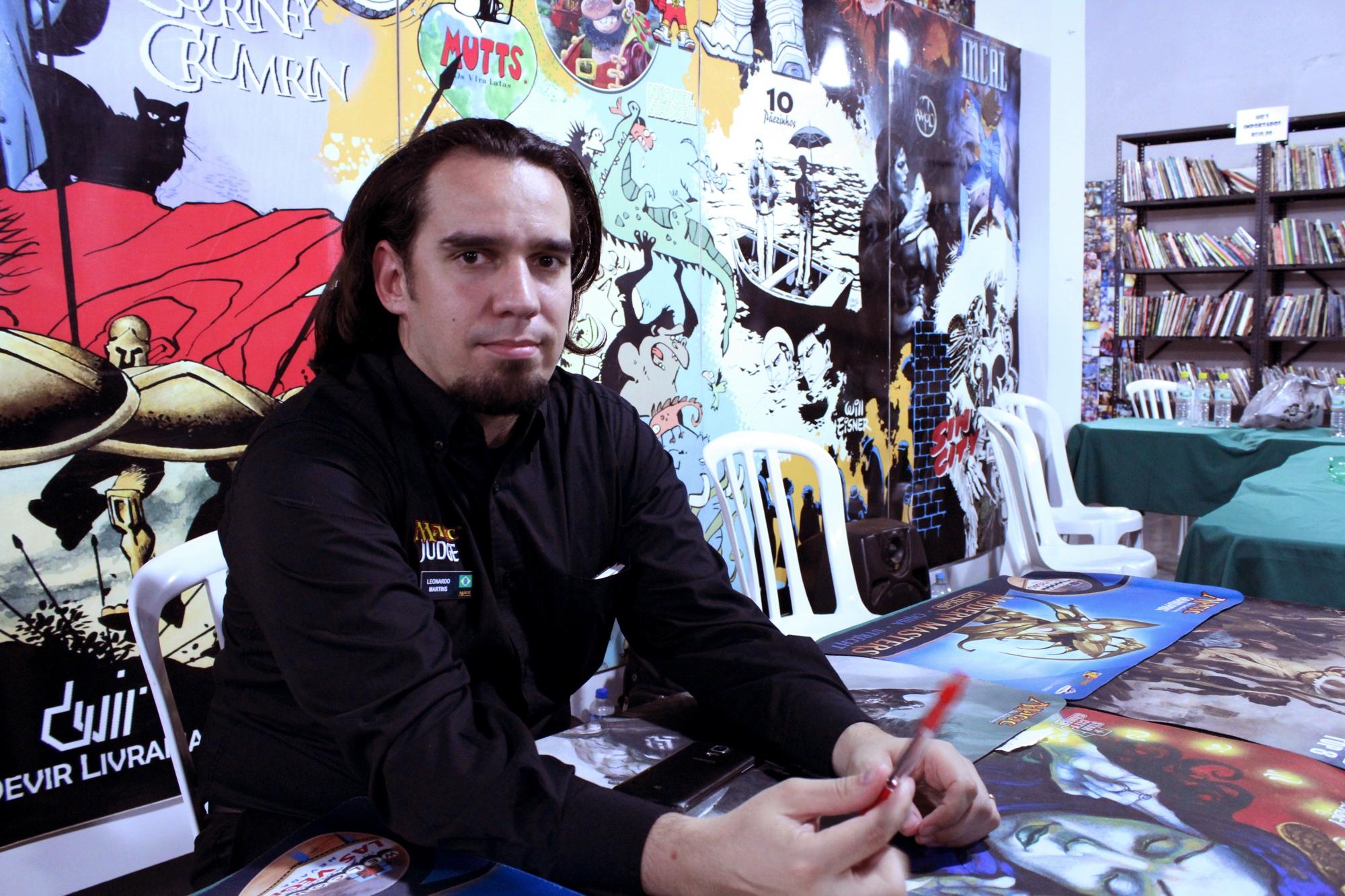 """Leonardo """"Estranho"""" Martins. Crédito: Flávio Alfonso Jr"""