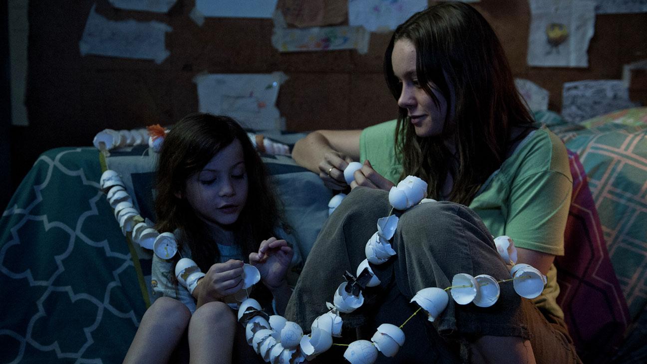 Jacob Tremblay e Brie Larson em 'O Quarto de Jack'