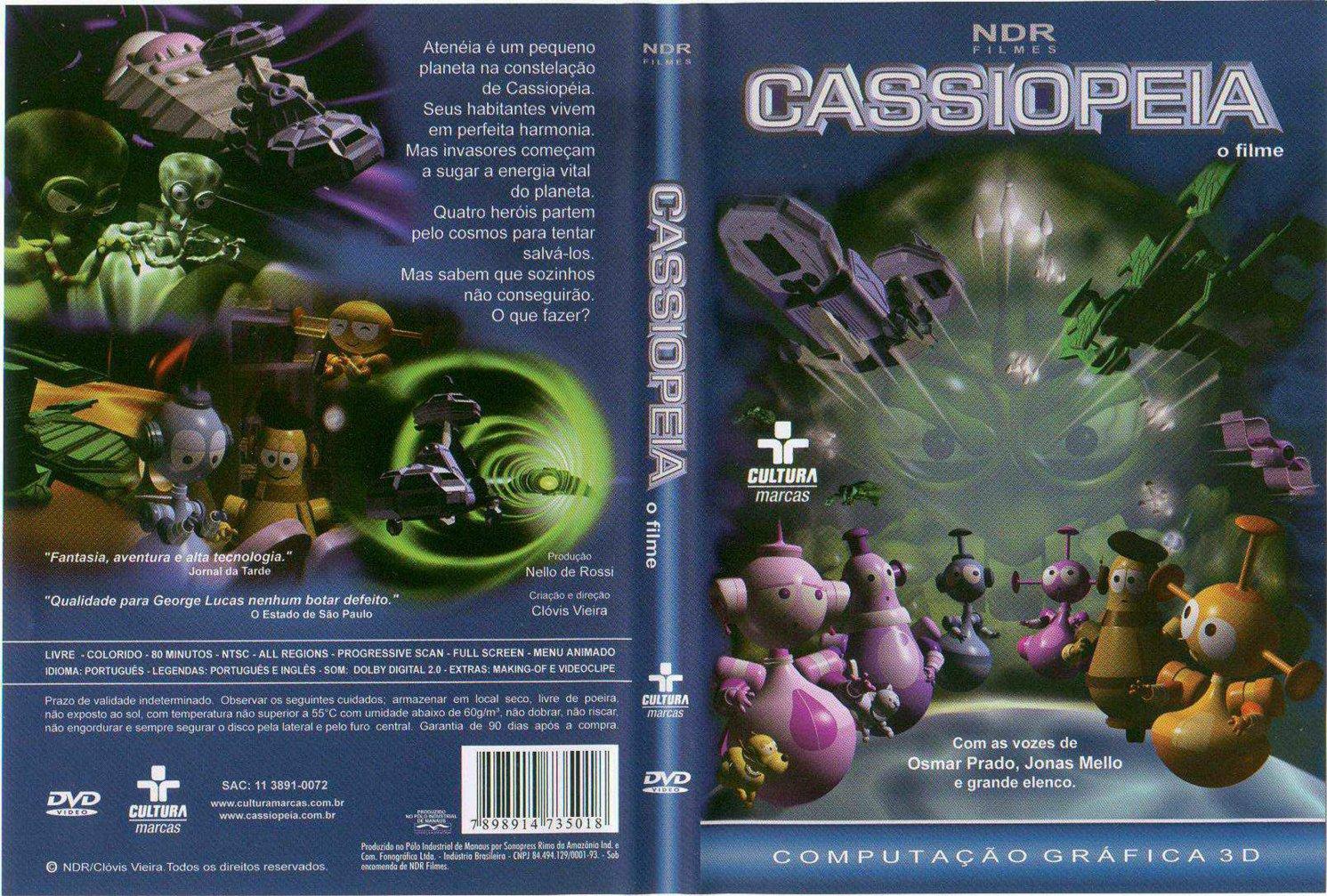'Cassiopéia', 20 anos
