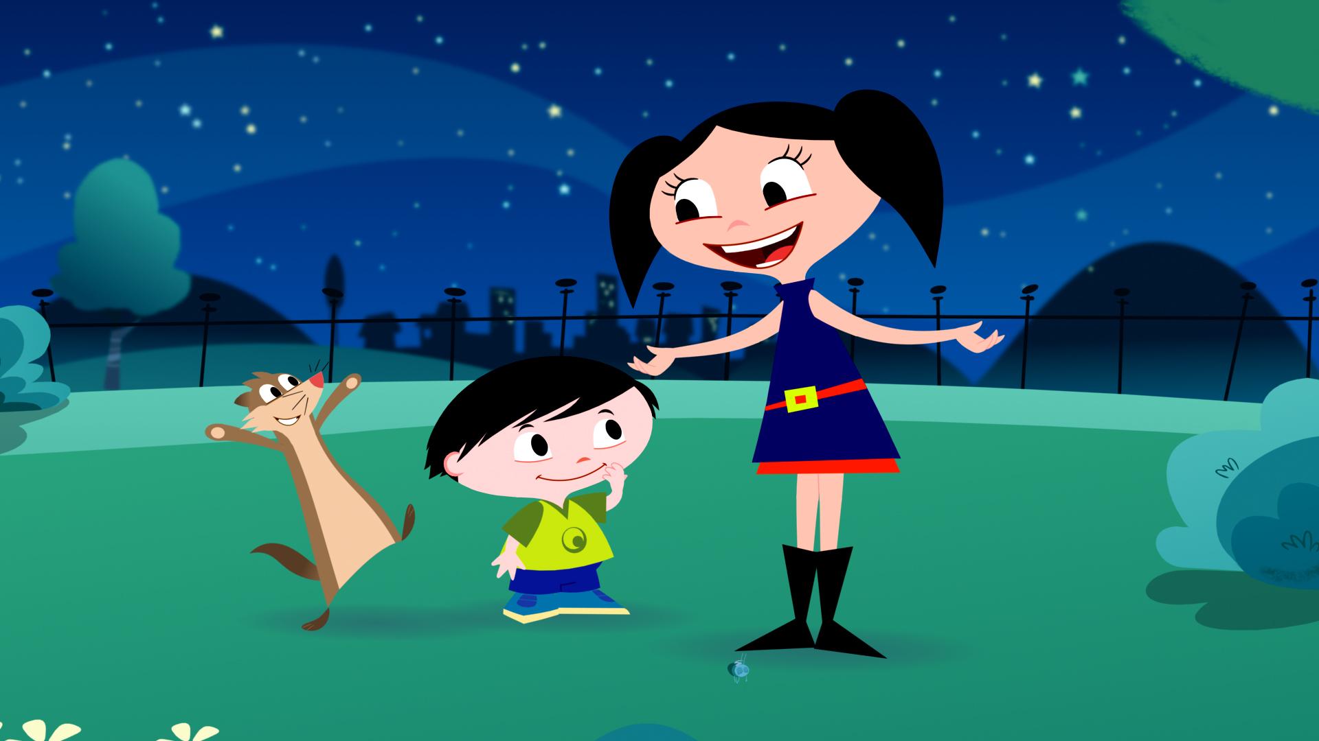 """Cena de """"O Show da Luna"""", do Discovery Kids"""