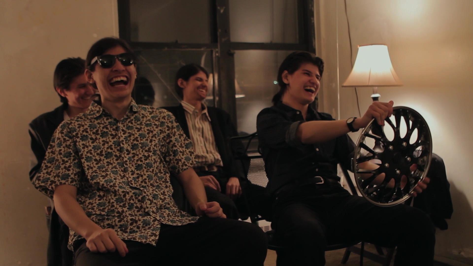 Cena do documentário 'The Wolfpack'