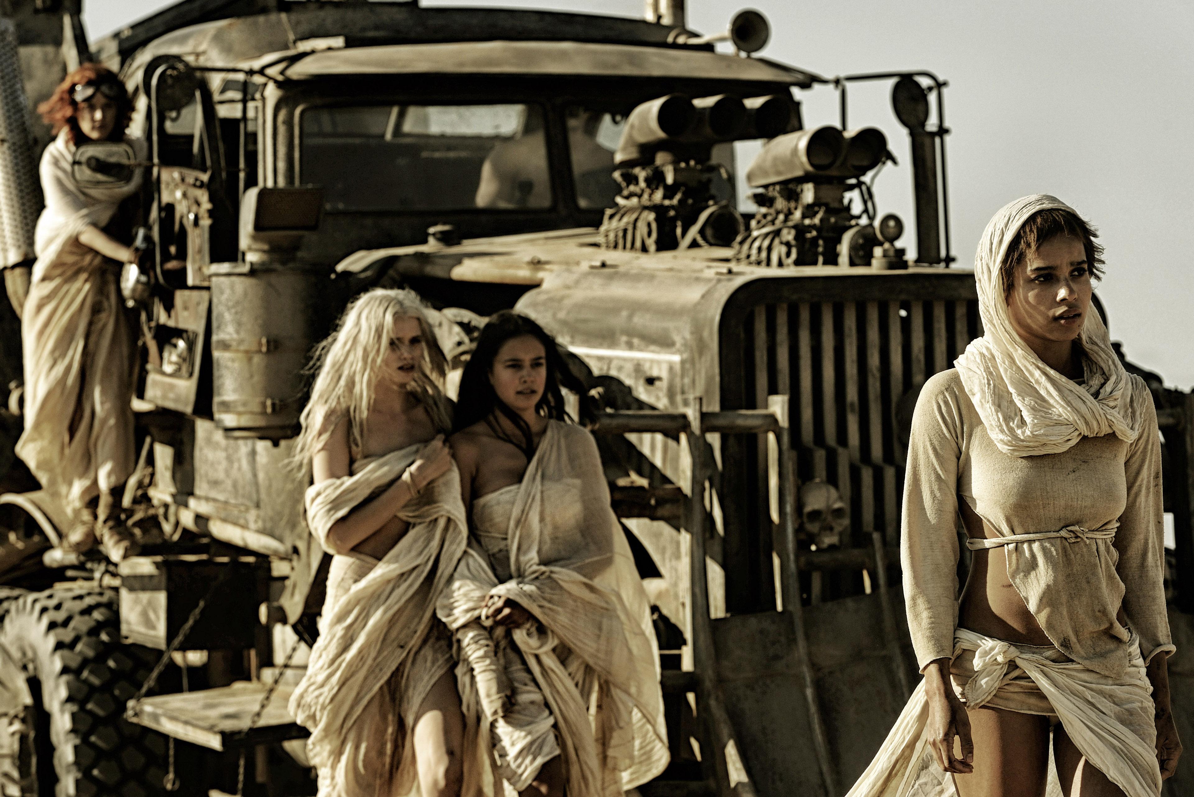 As mulheres de 'Mad Max: Estrada da Fúria'