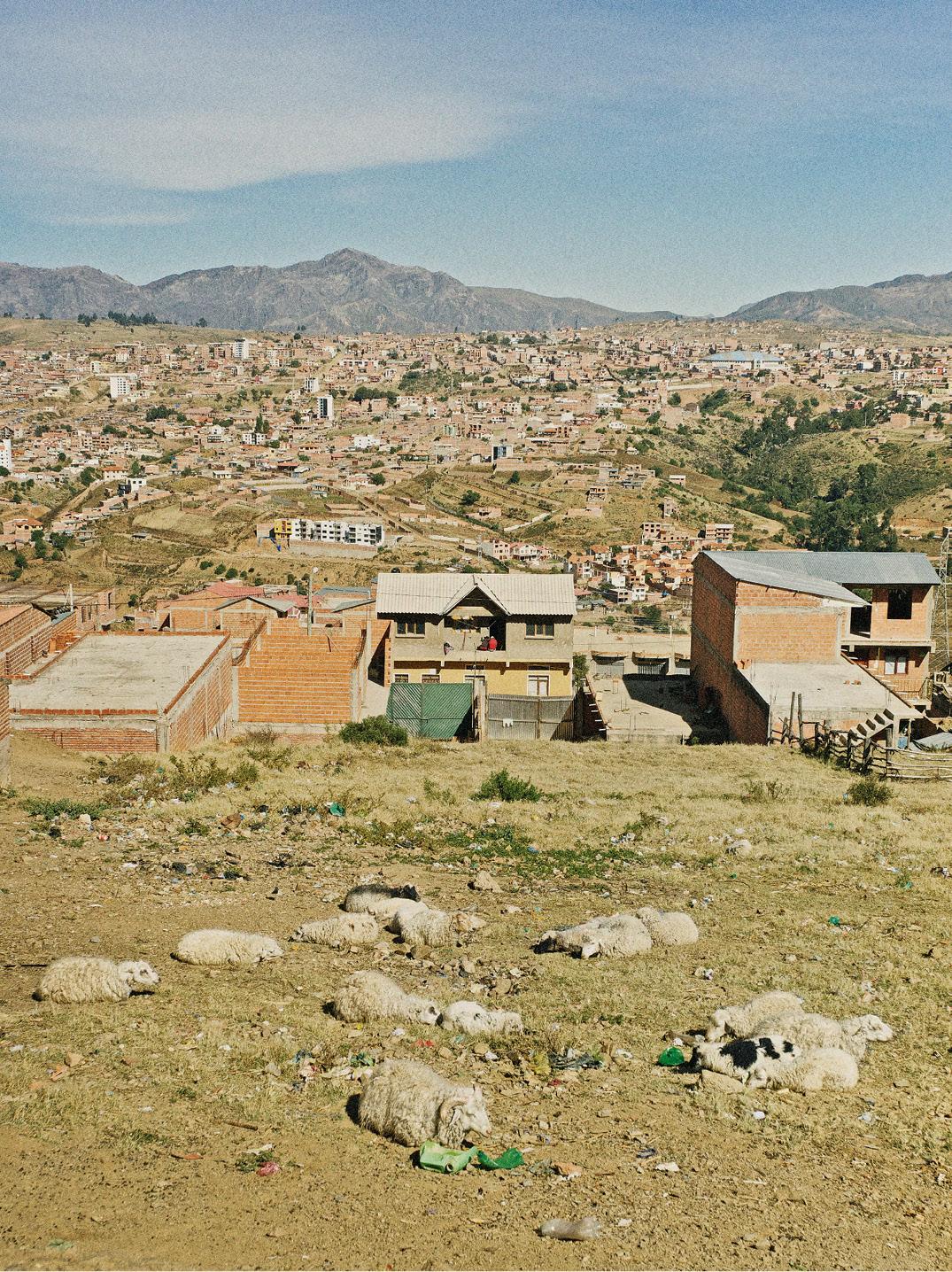 As colinas de Sucre, terra de Ismael e Juan Carlos. Crédito: Eudes de Santana