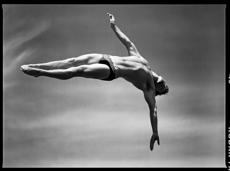 Prova de mergulho nas Olimpíadas de 1996 registrada por David Burnett