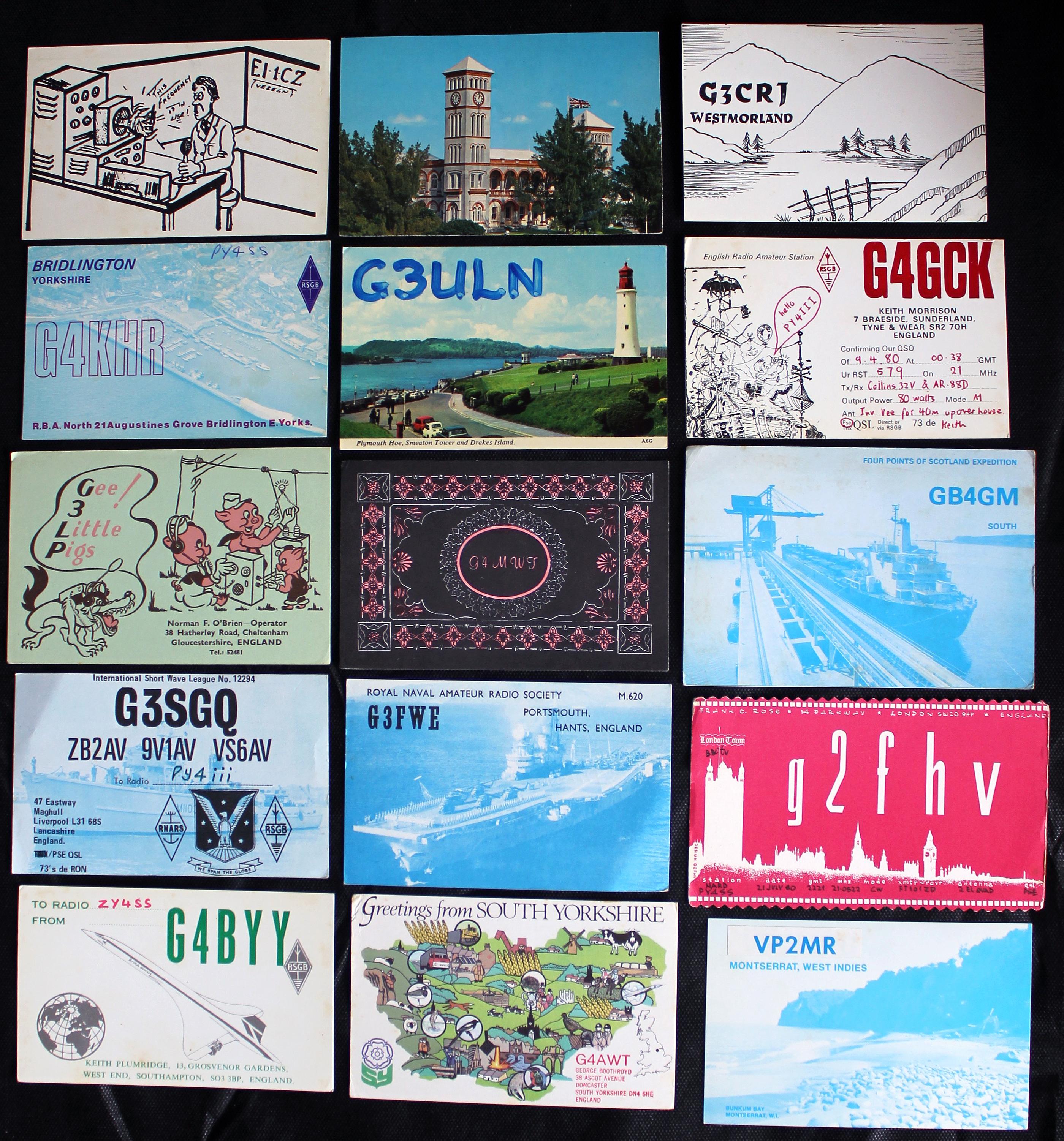 Cartões britânicos