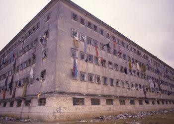 Data da foto: 10/1992 Pavilhão 9, onde ocorreu o Massacre do Carandiru.