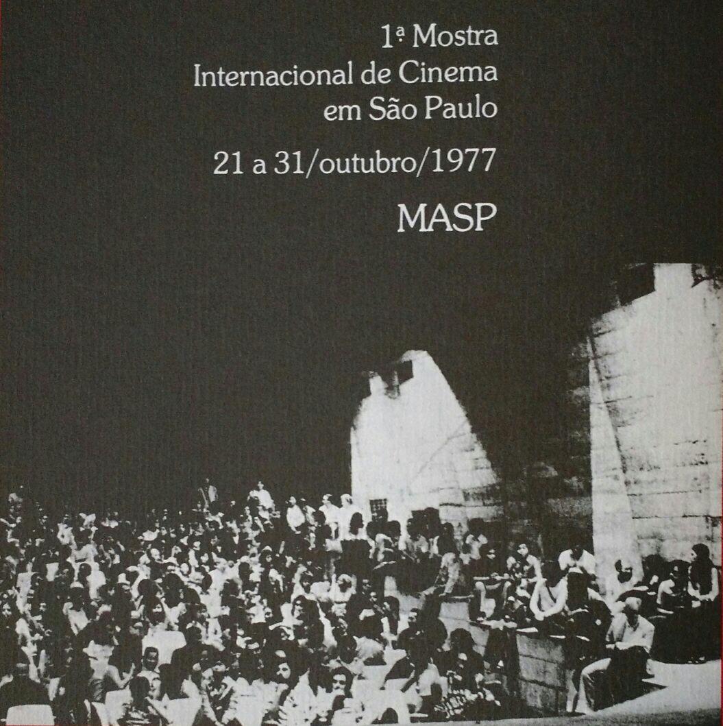 Cartaz da Mostra de 1997. Crédito: Imprensa Oficial