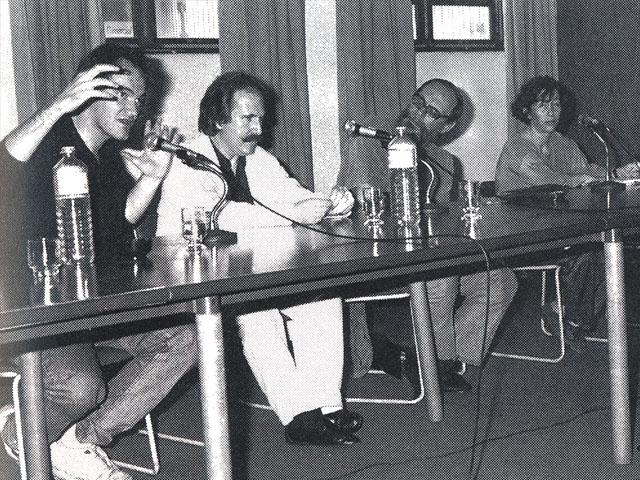 Tarantino na Mostra, em 1992. Crédito: Oficina Cultural Oswald de Andrade