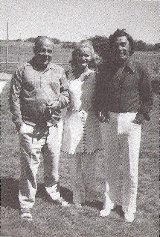 Jango, Maria Cristina e Tommaso, na fazenda uruguaia